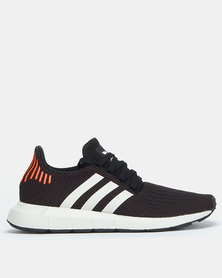 adidas Swift Run Sneakers BLACK/FTWWHT/GREONE