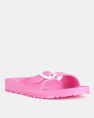 8f7d1ee8b22 Birkenstock Madrid EVA Narrow Fit Sandals Neon Pink