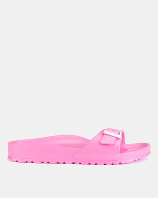 2ac4bde14ec3 Birkenstock Madrid EVA Narrow Fit Sandals Neon Pink