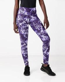 Bfit Active Wear Night Sky Tights Black/Purple