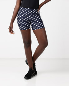 Bfit Active Wear Starry Short Tights Black/White