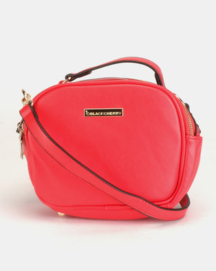 95c96849e Blackcherry Bag Top Handle Crossbody Bag Cherry Tomato
