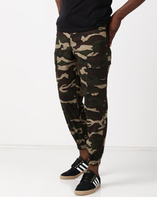 Utopia Cotton Cargo Joggers Camo