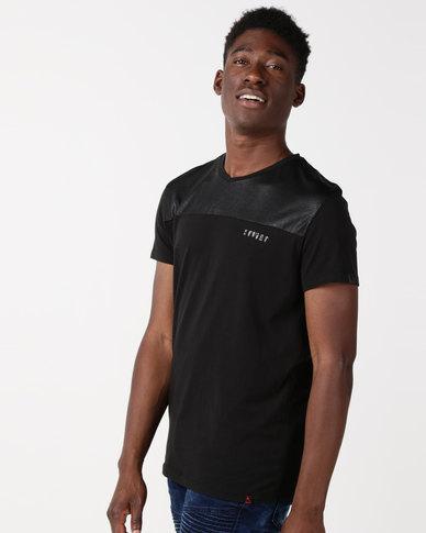 Soviet M Erik Styled T-Shirt Black