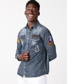 Soviet M Serrano Shirt Indigo