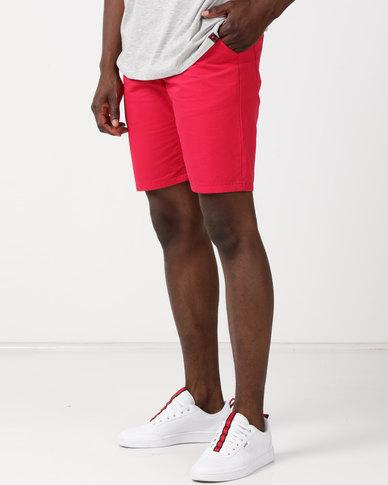Soviet M Galvin Shorts Red