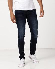 Soviet M Cayman Skinny Jeans #4 Dk Indigo