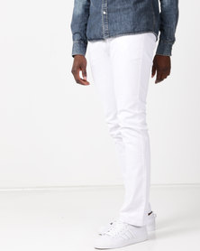 Soviet M Nikos Slim Fit Jeans #9 White