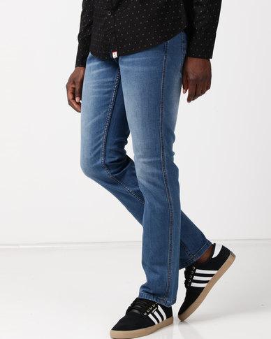 Soviet M Watford Straight Leg Jeans #12 Indigo
