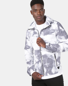 Cutty Cyclone Hooded Lightweight Jacket Grey