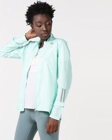 adidas Performance Response Jacket Turquoise