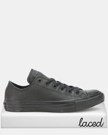 Converse Chuck Taylor All Star Ox Black Sneakers Mono