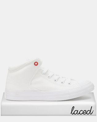 c865962f581d Converse Chuck Taylor All Star High Street Mid Sneakers White
