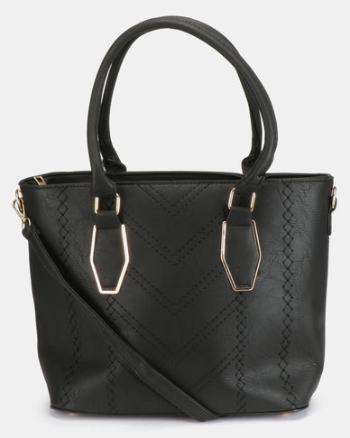 Utopia Laser Handbag Black