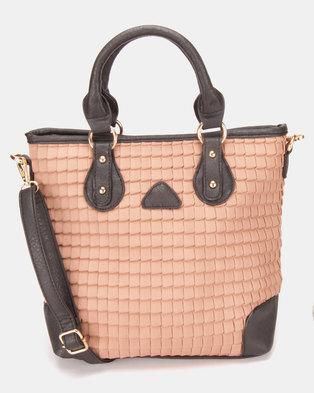 Utopia Quilted Handbag Mink