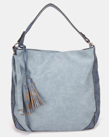 Utopia Tassel Handbag Light Blue