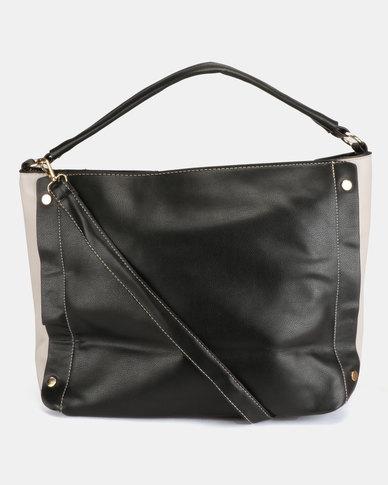 Utopia Seam Handbag Black