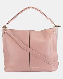 Utopia Seam Handbag Mink