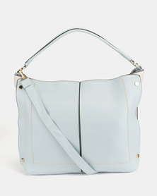 Utopia Seam Handbag Blue