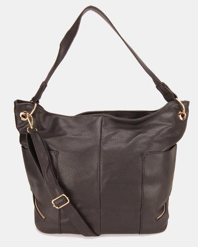Utopia Relaxed Handbag Black