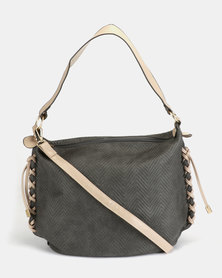 Utopia Siftee Handbag Grey