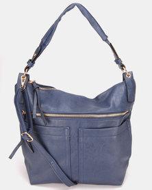 Utopia Pocket Handbag Navy