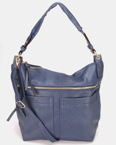 Utopia Pocket Handbag Navy