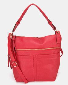 Utopia Pocket Handbag Red