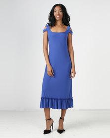 Famous Amy Dress Blue