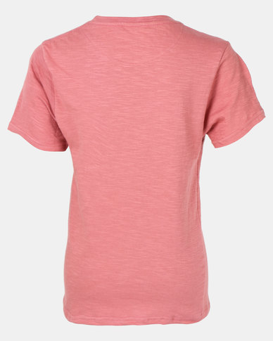 Lizzard Jennings Teen Boys Tee Pink