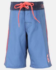 Lizzard  Teen Boys Boardie Shorts Blue