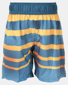 Lizzard Alix Tot Boys Boardie Shorts Blue