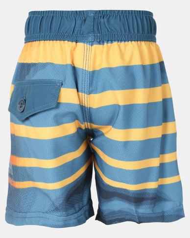 Lizzard Alix Tot Boys Boardie Shorts Blue