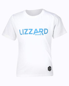 Lizzard Laven S/S Teen Tee White