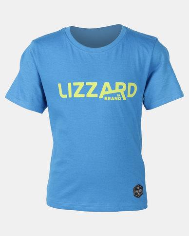Lizzard Laven Teen S/S Tee Blue