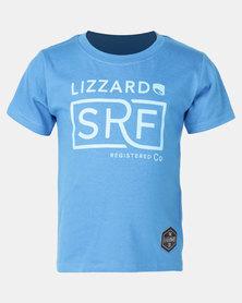 Lizzard Wilton Tot S/S Tee Blue