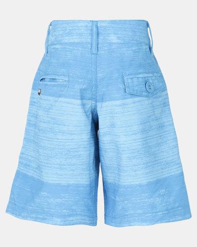 Lizzard Kenyon Teen Boardie Shorts Blue