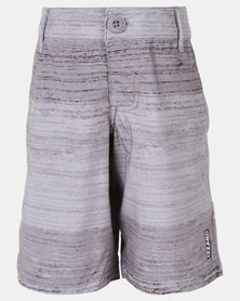 Lizzard Kenyon Teen Boardie Shorts Grey