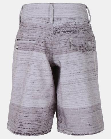 Lizzard Kenyon Teen Boardie Shorts Grey