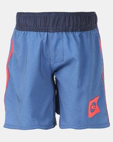 Lizzard Coo E Tots Elasticated Boardshorts Blue