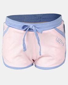Lizzy Sootie Elasticated Walkshorts Pink/Purple