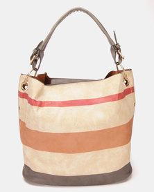 Utopia Stripe Handbag Multi