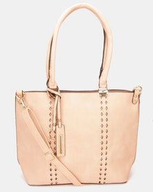 Utopia Handbag Peach