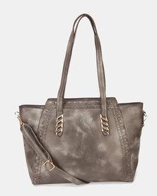 Utopia Trim Handbag Grey