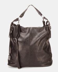 Utopia Slouchy Handbag Black