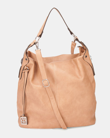 Utopia Slouchy Handbag Camel