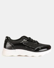 Pierre Cardin Chunky Fashion Sneakers Black