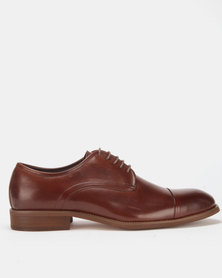 Steve Madden Tinno Lace-Ups Brown