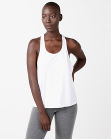 FIT Gymwear Gi Jane Vest White