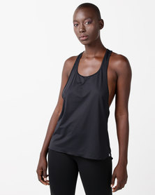 FIT Gymwear Gi Jane Vest Black